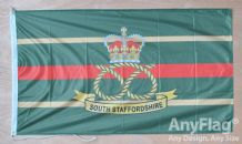SOUTH STAFFORDSHIRE REGIMENT ANYFLAG RANGE - VARIOUS SIZES